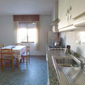 cocina apartamento guardamar