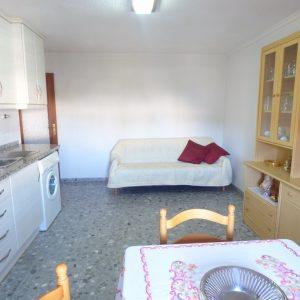 salon cocina apartamento guardamar