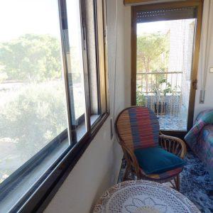 balcón dormitorio