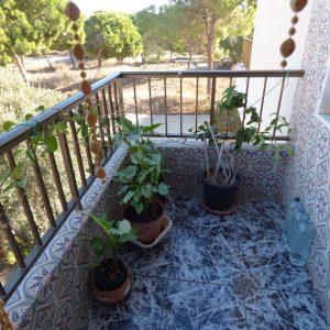 balcón privado dormitorio